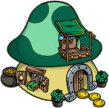 lucky smurf u0027s wheel fortune island smurfs village
