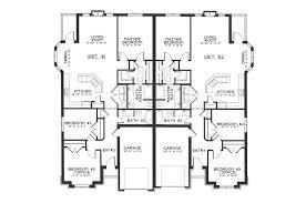 modern floorplans complete duplex house plans home deco plans