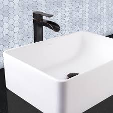 amazon com vigo niko single lever vessel bathroom faucet with pop