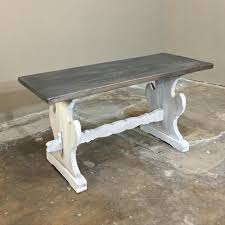 Trestle Coffee Table Trestle Coffee Table Railroad Plans Portobello Rustic Pine