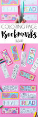 summer coloring page bookmarks dawn nicole designs