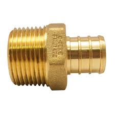 Oem 190 607 by Sharkbite 3 4 In Brass Pex Barb X Male Pipe Thread Adapter
