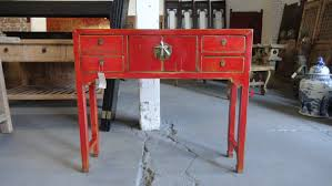 asian style sofa table reserve pareez asian inspired console table red los angeles and