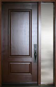 fiber glass door fiberglass door nov 2pr with full glass sidelite portatec