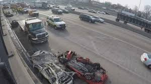 lanes reopen after accident closes ib dan ryan near 47th street