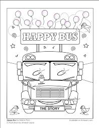 happy bus a children u0027s story purple splash studios