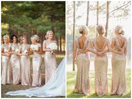 sparkly rose gold cheap mermaid bridesmaid dresses 2016 short