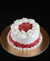how to make eggless red velvet cake with boiled flour buttercream