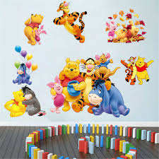 9 winnie the pooh nursery wall decals winnie the pooh nursery winnie the pooh nursery room wall decal decor stickers for kids baby