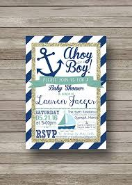 nautical baby shower invitations etsy nautical baby shower invitations stephenanuno
