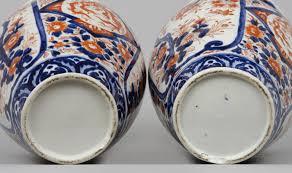 Antique Vases For Sale Pair Large Japanese Imari Open Vases Circa 1870