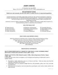new grad nursing resume template new registered resume sle sle of new grad nursing
