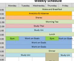 2016 weekly social media calendar my excel templates