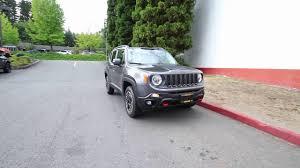 granite jeep renegade 2016 jeep renegade trailhawk granite gpd02616 redmond