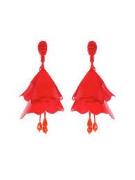 ear rings pic earrings designer statement earrings by oscar de la renta