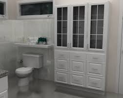 bathroom linen cabinet with glass doors simple and modern ikea bathroom designs with white shelf on corner