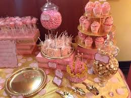 cool pink and gold princess baby shower decorations 80 for your