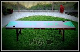 beer die table for sale custom beer pong tables