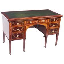 Antique Writing Desks For Sale Antique Edwardian Inlaid Desk With Slides Circa 1900 For Sale At