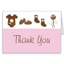 thank you card for baby shower thank you baby shower cards baby shower ideas gallery