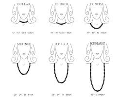 necklace choker length images Best necklace length la necklace jpg