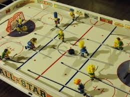Table Top Hockey Game Silver Medal