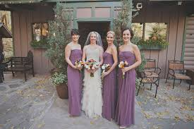 dessy wedding dresses fall wedding at millcreek inn with dessy bridesmaids dresses in
