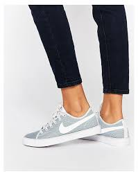 Comfortable Nike Shoes Nike Textured Primo Court Cool Grey Women Shoes