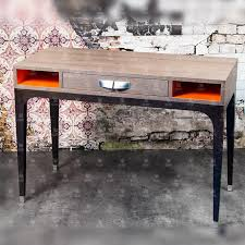 collinet sieges wood veneer desk contemporary for hotels with storage