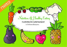 nutrition and healthy eating activities for pre k and kindergarten