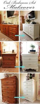 What Color To Paint Bedroom Furniture The Rest Of The Oak Bedroom Set Oak Bedroom Chalk Paint And