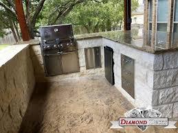 Kitchen Design San Antonio Outdoor Kitchen Builders San Antonio Diamond Decks