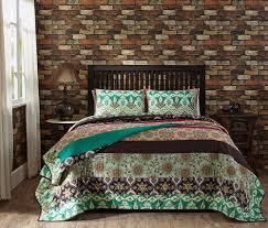 Country Quilts And Bedspreads Amazon Com Capri Queen Quilt Set Includes One Queen Quilt 90