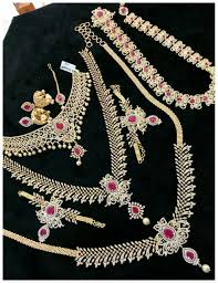 bridal set for rent ezwed moni sai rental jewellery bridal jewellery rental in tiruchi