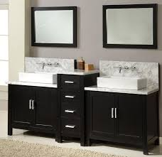 Home Decorators Collection Mirrors by Rectangular Bathroom Mirror With Wooden Shelf Metal Mirror With