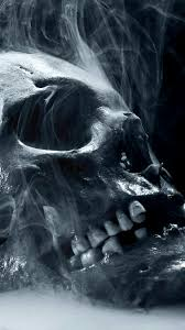 halloween skull with candle background found this wallpaper on zedge kulls u003d pinterest wallpaper