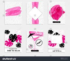pink martini logo pink summer party promo banner collection stock vector 591866576