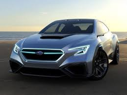 subaru viziv interior does the subaru viziv performance concept preview the next wrx