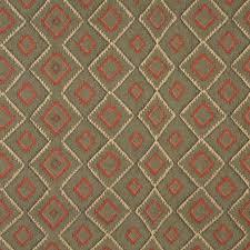 Upholstery Fabric Southwestern Pattern Green Beige And Red Diamond Southwest Upholstery Fabric By The Yard