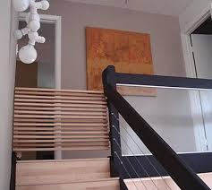 Baby Gate For Stairs With Banister And Wall Barn Wood Baby Or Pet Gate For Fi Pinterest Pet Gate Barn