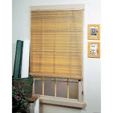 Walmart Eclipse Curtains by Radiance Bamboo Cape Cod Roman Shade Maple Walmart Com