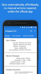 dropbox app for android autosync dropbox dropsync android apps on play