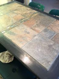 Best  Tile Top Tables Ideas On Pinterest Tile Tables Garden - Dining room tile