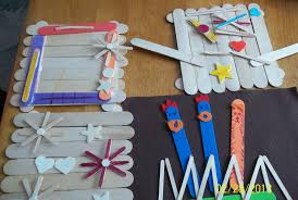popsicle stick crafts early teacher