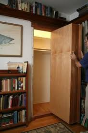 Wall Bookcase With Doors How To Make A Secret Door Bookcase Small Office Design