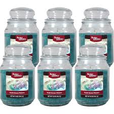 Better Homes And Gardens Home Decor Better Homes And Gardens 18 Ounce Candles Fresh Ocean Flower 6