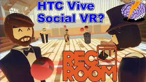 rec room vr gameplay htc vive vr social gameplay in rec room