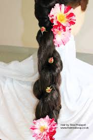 Flower Decorations For Hair Asian Bridal Hair Ideas U2013 Plaits U0026 Braids