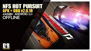 nfs pursuit apk nfs pursuit v2 0 18 apk obb offline yt