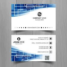 E Business Cards Free Futuristic Business Card Vector Free Download